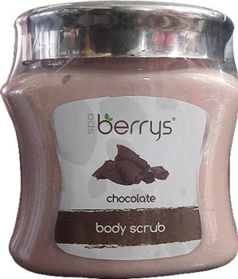 Berrys Spa Chocolate Body  Scrub