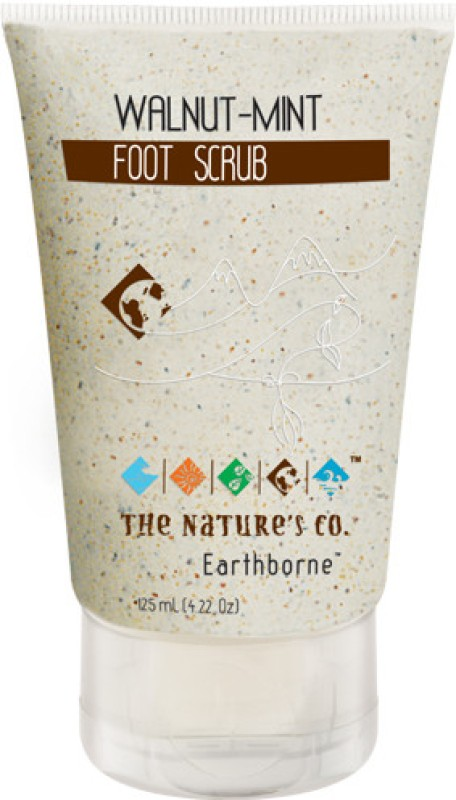 The Nature's Co Walnut Mint Foot  Scrub(125 ml)