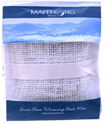 Maithong Skin Whitening Bath Mitt Inner Peach Scrub