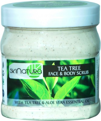 Skinatura tea tree face & body cream scrub Scrub(500 ml)