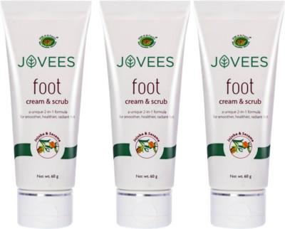 Jovees Foot 2 in 1 Cream & Scrub(180 g)