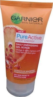 Garnier Pure Active Fruit Energy Daily Energising Gel Scrub