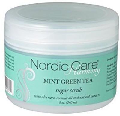 Nordic Care harmony sugar scrub, mint green tea, 10.5 ounce Scrub
