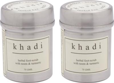 Khadi Natural Neem And Turmeric Pack Of 2 Scrub