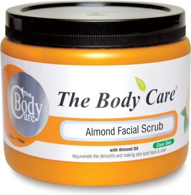 The Body Care Almond Scrub 500g Scrub