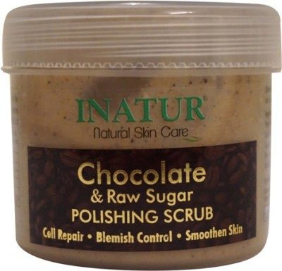INATUR Chocolate & Raw Sugar Polishing  Scrub