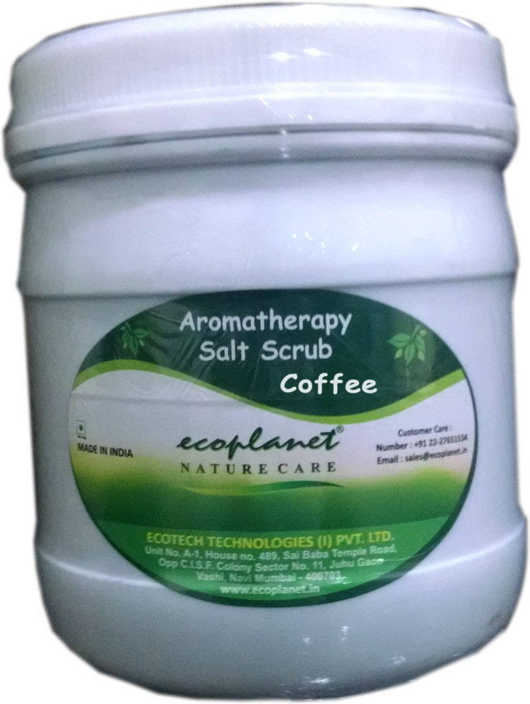 Ecoplanet Aromatherapy Salt Base Coffee Scrub(1000 g)