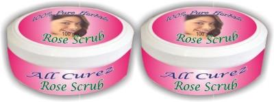 All Curez Rose  Scrub