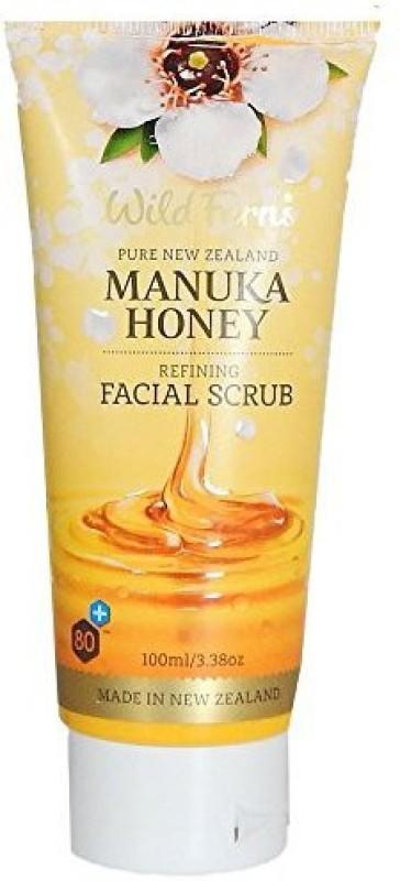 Wild Ferns Manuka Honey Facial  Scrub(100 ml)