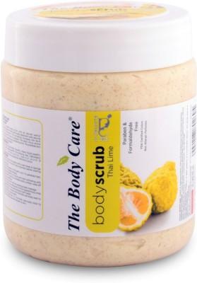 the body care Thai lime Scrub