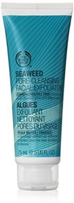 The Body Shop Seaweed Pore-cleansing Facial Exfoliator Scrub(75 ml)