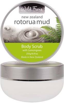 Wild Ferns Rotorua Mud Body Scrub with Lemongrass Scrub