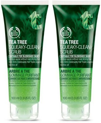 The Body Shop Tea Tree Squeaky  Scrub(200 ml)