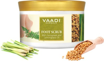 Vaadi Herbals Foot Scrub With Fenugreek And Lemongrass Oil Scrub(500 g)