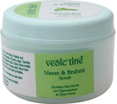 Vedic Line Neem Brahmi  Scrub