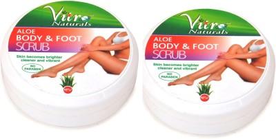 Vitro Naturals Aloe Body And Foot  Scrub