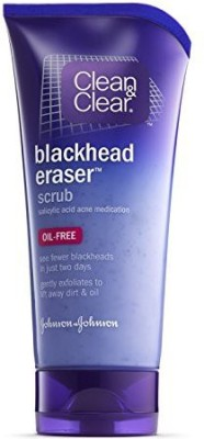 Clean & Clear Blackhead Eraser Scrub(150 ml)