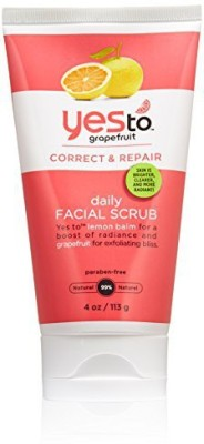 Yes To daily facial scrub, 4 ounce Scrub