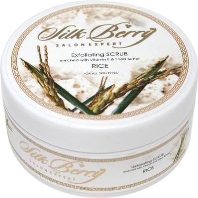 Silk Berry Rice Exfoliating Scrub