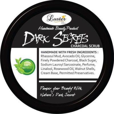 Luster Dark Secrets Charcoal Scrub