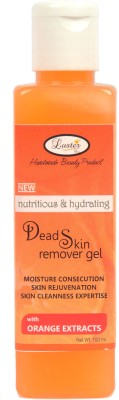 Luster Dead Skin Remover Gel with orange extracts (Hand & Foot Care - Mani-Pedi Care) Scrub(100 ml)