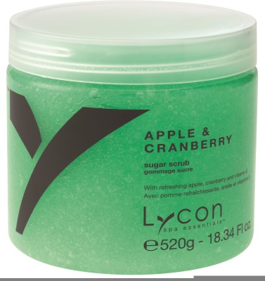 Lycon Apple & Cranberry Sugar  Scrub