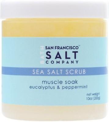 San Francisco Bath Salt Company muscle soak body scrub Scrub