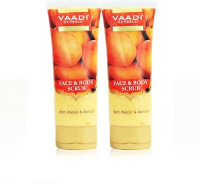 Vaadi Herbals Value Pack of Papaya Fairness Scrub Gel with Honey & Saffron Scrub(220 g)