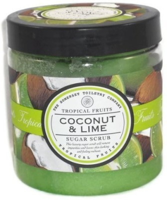 Asquith & Somerset tropical fruits coconut Scrub