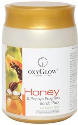 Oxyglow Honey & Papaya Enzymes Pack Scrub