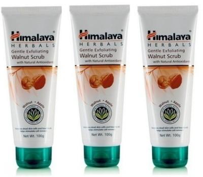 Himalaya Gentle Exfoliating Walnut Scrub (Pack of 3) Scrub
