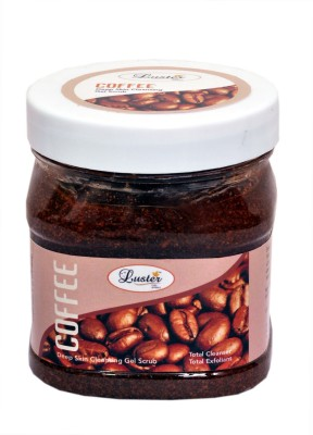 Luster Coffee Face & Body Scrub(500 ml) at flipkart