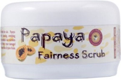 Adidev Herbals Papaya Fairness Face  Scrub