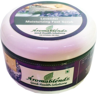 Aromablendz Exfoliating Lavender Foot Scrub