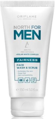 NORTH FOR MEN Fairness Face Wash &  Scrub