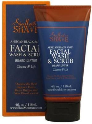 Shea Moisture african black soap facial wash & scrub Scrub