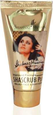 Shahnaz Husain Shascrub - Walnut Face and Body  Scrub