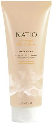 Natio Orange Blossom Sea Salt  Scrub