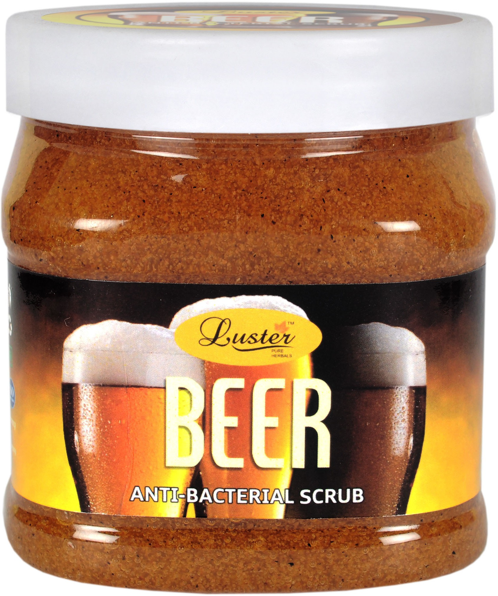 Luster Beer Face & Body  Scrub(500 ml)
