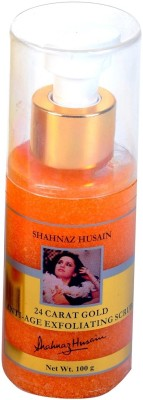 Shahnaz Husain 24 Carat Gold Anti-Age Exfoliating Scrub(100 g)