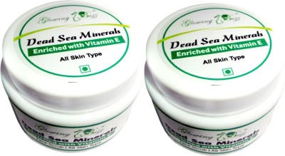 Glowing Buzz Pack of 2 Sea Minerals Enriched with Vitamin E  Scrub