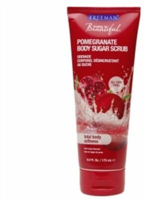 Freeman Feeling Beautiful Pomegranate Body Sugar Scrub With Ayur Soap Scrub