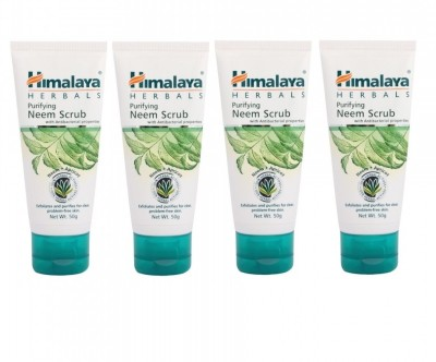 Himalaya Purifying Neem Scrub (Pack of 4) Scrub