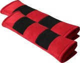 Car Accessor Red&Black Color Seat Belt C...