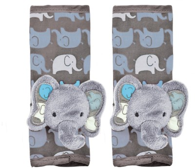 Playette Elephants Seat Belt Cover(Pack of 2)