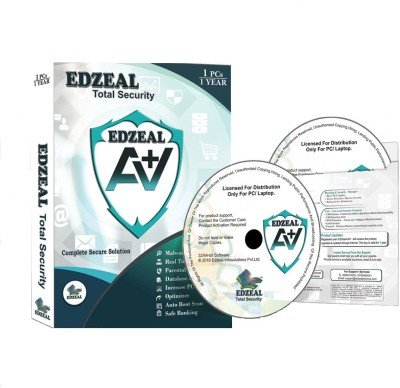 Edzeal Antivirus Total Security 1 Pc 1 Year CD Edzeal Antivirus Total Security 1 Pc 1 Year CD