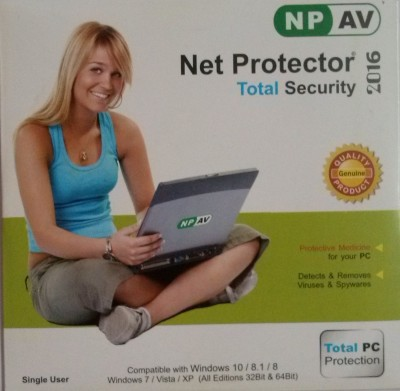 NPAV Net Protector Total Security 2016 1 User 1 Year
