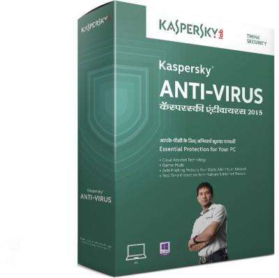 Kaspersky Antivirus 2015 3PC 1 Year