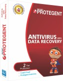 Protegent Antivirus Software with Data R...