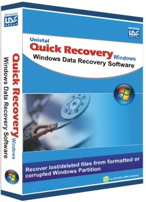 Quick Recovery For Windows (Personal), Windows Data Recovery